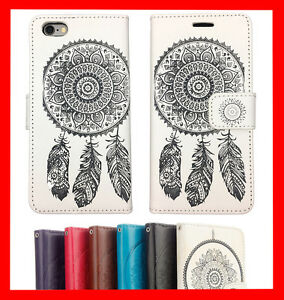 Wallet-Magnetic-Flip-Leather-Case-Gel-Cover-for-Apple-iPhone-5-C-6-6S-Plus-7-8-X
