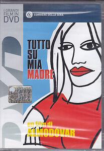 Dvd **TUTTO SU MIA MADRE** di Pedro Almodovar con Penelope Cruz nuovo 1999