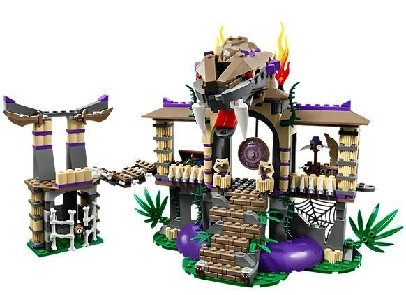 LEGO Ninjago 70749 Enter the Serpent Toy Set New In In In Box Sealed 790d12