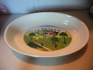 VILLEROY-amp-BOCH-NAIF-13-034-Oval-Baker-Casserole-Baking-Dish-Oven-to-Tableware