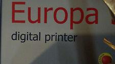 Europa 5 Digital Printer w/ Egate Server Rack-Excellent