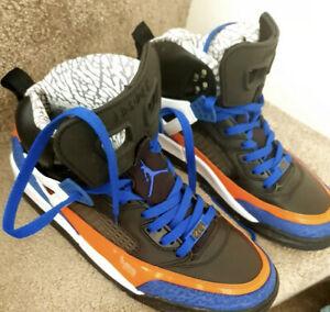 Alegre Juicio escalera mecánica  Mens Nike Air Jordan Spizike Size 8 . 5 Custom Made Rare   eBay