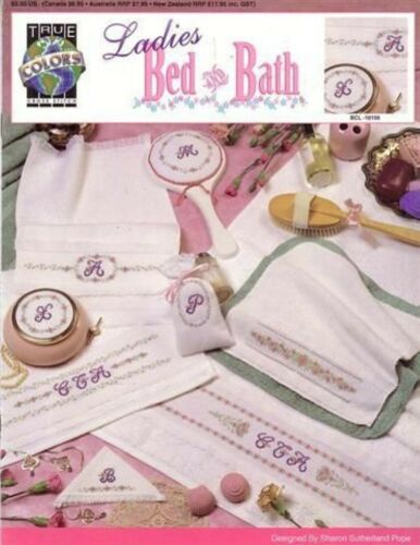 NEW XSTITCH LADIES BED AND BATH BEAUTIFUL DESIGNS
