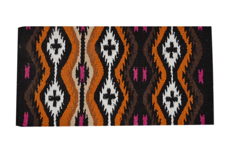 Western Multi color Woolen Saddle Pad 34  x 32