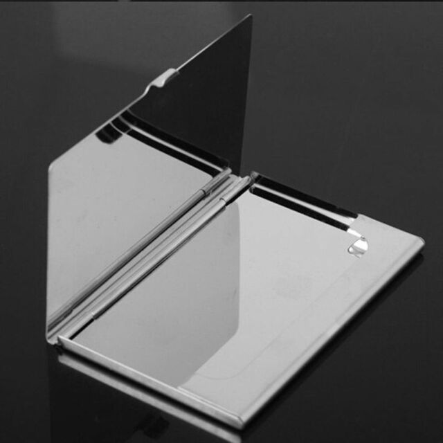Stainless Credit Holder Metal Business Card Case Namecard Clip Waterproof