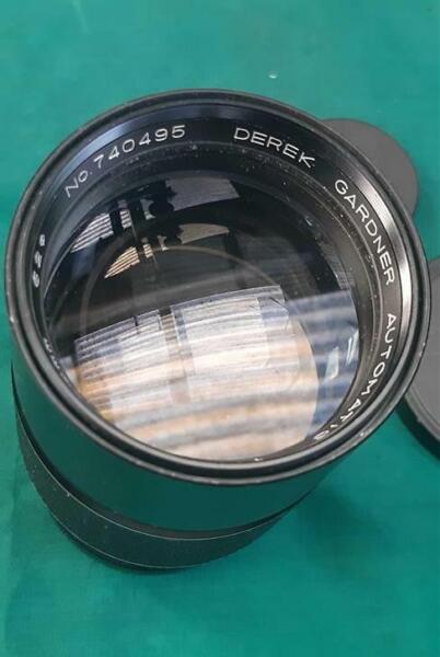 Charmant Vintage Derek Gardner (vis) 1:3 .5 200 Mm Objectif Photo Nombreux Dans La VariéTé