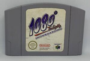 Nintendo 64 1080 Snowboard, en muy buena condición probado N64 pal (solo carro) Gratis P 1st Clase