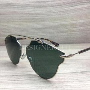 b2f44ed7a3f Image is loading Christian-Dior-So-Real-Pop-Sunglasses-Palladium-Tortoise-
