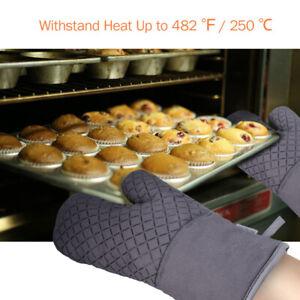 1Pair-Oven-Mitt-Kitchen-Cooking-Baking-Pot-Holder-Heat-Resistant-Glove-Pad-USA