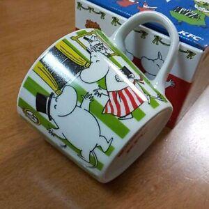 Moomin-Mug-Tea-Cup-KFC-Limited-Edition-Green-Moomin-Family-Japan-F-S-VERY-RARE