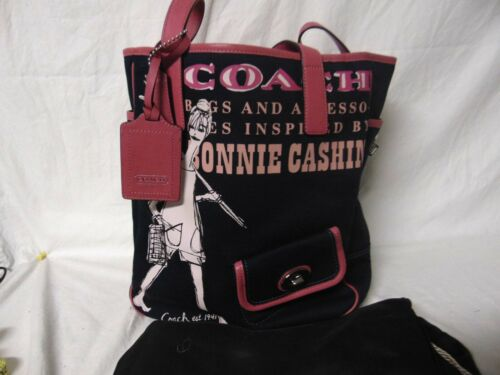 Bonnie Cashin - Coach Navy Blue Tote -  Pre-own co