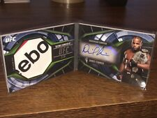 Topps Ufc Auto Daniel Cormier /5 Fighter Booklet 1/1 Reebok Relic 2019 Knockout