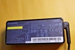 Genuine-Lenovo-Thinkpad-Adaptateur-Secteur-Alimentation-Chargeur-65-W-X1-T450-T460-T470-plat-Astuce