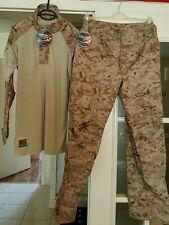 USGI US Marine Corps USMC Army MARPAT Desert Digital FROG Combat Shirt + Pants