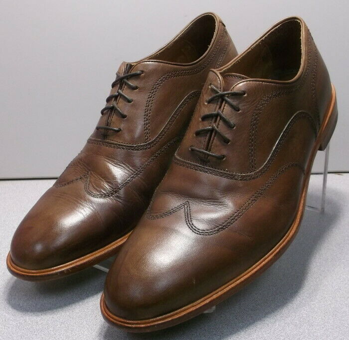271410 PF50 Men's Shoes Size 13 M Brown Leather Lace Up Johnston & Murphy