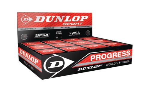 PSA NEW Dunlop Squash Balls Progress Training Official Ball of the WSF WSA