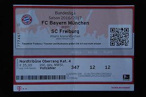 Sc Freiburg Karten.Details Zu Für Sammler Ticket Karte Fc Bayern München Sc Freiburg Eintrittskarte