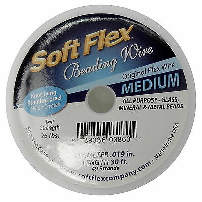 0.35mm 21 Strands FT451 Soft Flex Wire .014 Length 30 ft