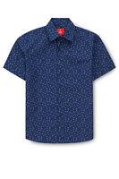 Fred Bracks Print Shirt Blue