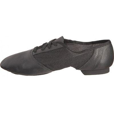 458 Capezio geteilte Sohle Jazz Schuhe schwarz