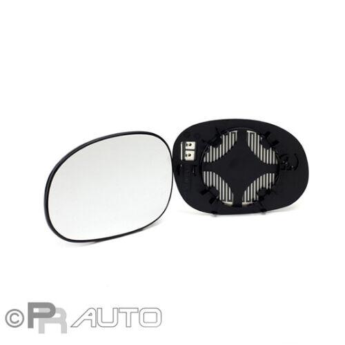 02//02 F//H Außenspiegel Spiegelglas links konvex beheizbar Citroen C3