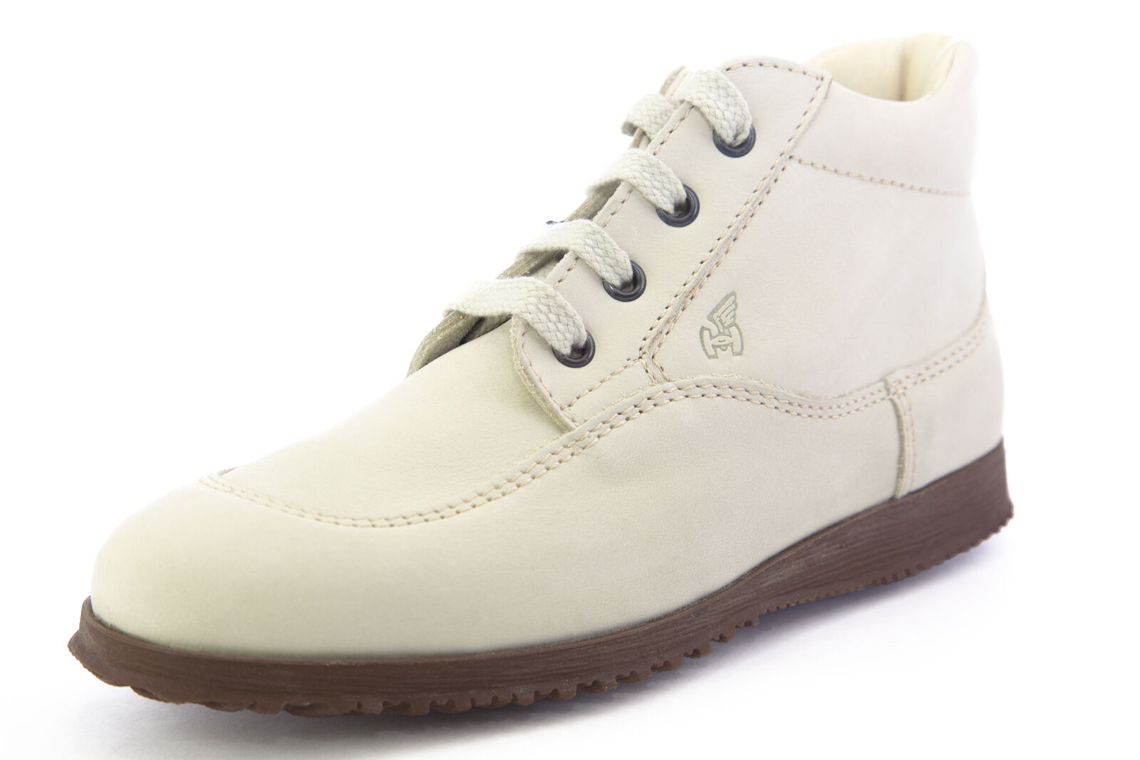 Hogan by TOD'S donna Polacco Traditional Mid Lace-Up scarpe Off-bianca Dimensione 5 35