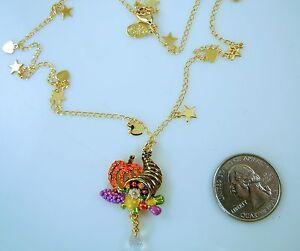 Kirks-Folly-Cornucopia-Harvest-Magic-Necklace-Thankgiving