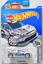 HOT WHEELS 2016 HW SNOW STORMERS '12 FORD FIESTA #2/5 ZAMAC MIB