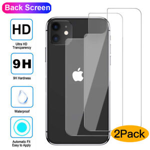 2X-Tempered-Glass-Back-Rear-Screen-for-iPhone-11-Pro-Max-XS-XR-Film-Protector-AU