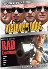 Reservoir Dogs Bad Lieutenant 0012236210276 DVD Region 1 P H