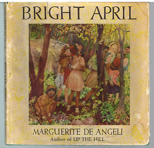 April-by-Marquerite-de-Angeli-1946-1st-Ed-Rare-Book