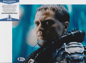 Michael-Shannon-Man-of-Steel-Signed-Autograph-8x10-Photo-Beckett-BAS-COA