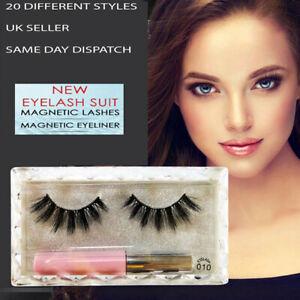 Magnetique-Eyeliner-Liquide-Avec-Impermeable-Trousse-Magnetique-Faux-Cils-Facile