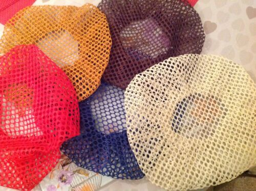 HAIR NETS SLEEP STURDY WITH ELASTIC EDGE STRETCH TO FIT BRAND NEW