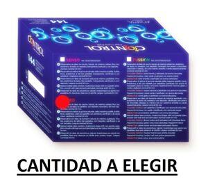 PRESERVATIVOS CONDONES CONTROL SABOR A FRESA // CANTIDAD A ELEGIR