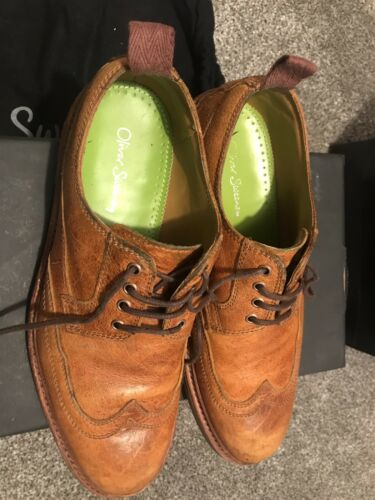 Automne D'Hiver Chaussures Sweeney Burnes 9 Uk Lacets Marron Hommes Cuir Oliver Clair 6wRqTfR0