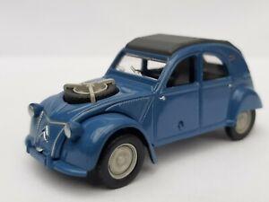 Norev-3-inches-Citroen-2-cv-Sahara-4x4-Bleu-cyclades-Neuf-en-boite
