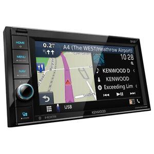 KENWOOD 2-DIN DNR4190DABS Auto Radioset für FORD Fiesta MK6/Fusion