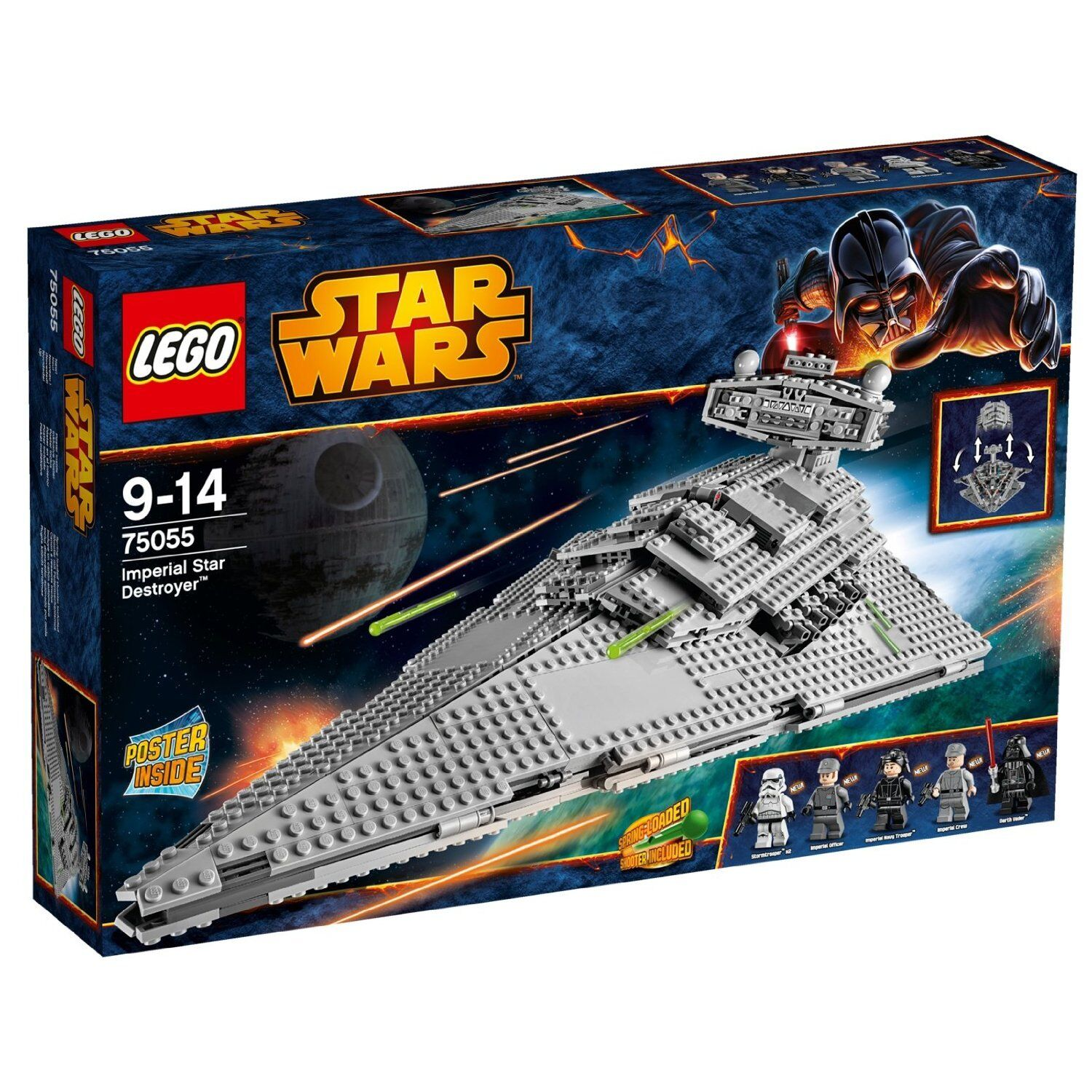 LEGO STAR WARS 75055. IMPERIAL STAR DESTROYER. SET NUEVO Y PRECINTADO.