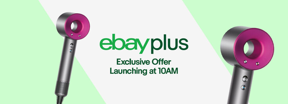 Sign up to eBay Plus - Take $150 off* Dyson Supersonic