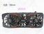 About Gigabyte GTX 1080 G1 Gaming 8G Graphics Cooler Cooling Fan #JIA