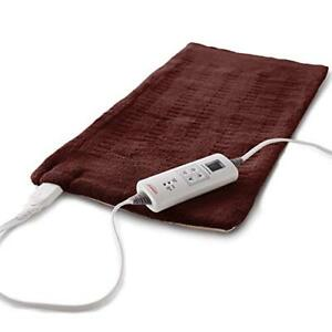 Sunbeam King Size Moistdry Heat Heating Pad With Led Assorted
