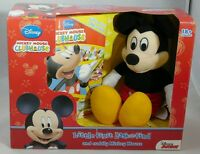 Mickey Mouse Clubhouse Book & Plush Toy Look & Find Disney 18m+ Gift