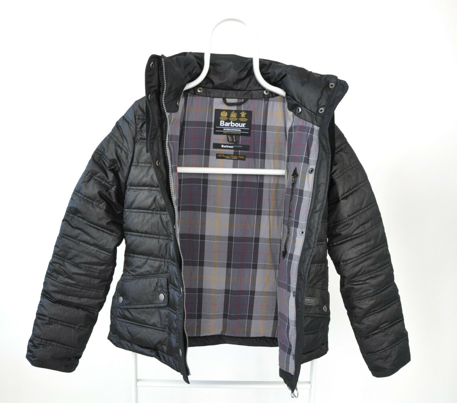 WOMENS BARBOUR INTERNATIONAL 'CROWN' QUILTED PUFF… - image 4