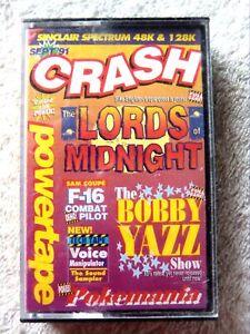 73980 Sep '91 Crash Powertape - Sinclair Spectrum 48K (1991) Sep '91