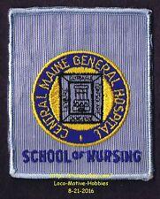 LMH PATCH Badge  CENTRAL MAINE GENERAL HOSPITAL  Medical Center  SCHOOL NURSING