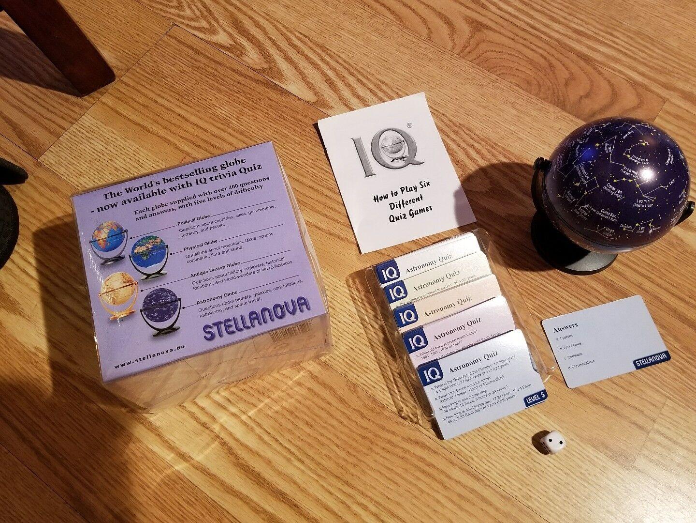 StellaNova globe IQ Trivia quiz game Astronomy