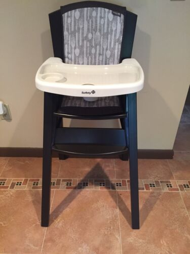 : safety 1st wood high chair - Cheerinfomania.Com