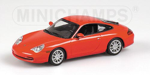 Minichamps Porsche 911 (2001) (2001) (2001) rojo (Indischrojo) 1 43 400061024 1 43 1 43 213b32