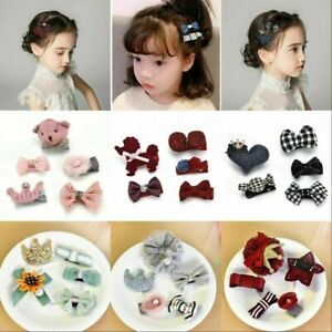 5Pcs-Set-Sequins-Bow-Hair-Clips-Hairpin-Baby-Girls-Faux-Leather-Hair-Accessories